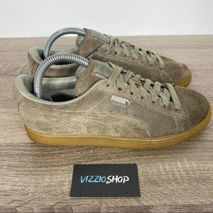 Puma - Suede Vetiver - Youth 6.5 - 363242 09
